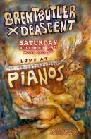 Brent Butler x Deascent Show Poster