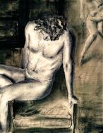 Charcoal Self Portrait